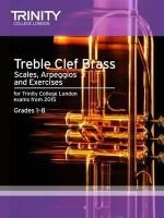 Trinity College Lond, Nightingale,M - Brass Scales & Exercises: Treble Clef from 2015: Grades 1 - 8 - 9780857363770 - V9780857363770