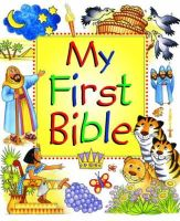 Lane, Leena - My First Bible - 9780857460790 - V9780857460790