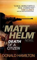 Donald Hamilton - Matt Helm - Death of a Citizen - 9780857683342 - KRA0008397