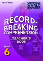 Various - Record Breaking Comprehension: Teacher's Guide Year 6 - 9780857695703 - V9780857695703