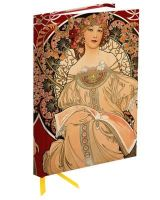 Flame Tree Publishing - Flame Tree Notebook (Mucha Reverie) (Flame Tree Notebooks) - 9780857756671 - V9780857756671