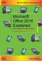 Kantaris, Noel - Microsoft Office 2016 Explained - 9780859347624 - V9780859347624