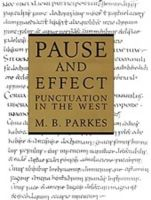 Parkes, M.B. - Pause and Effect - 9780859677424 - V9780859677424