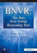 Butt, Pamela, Bucks, Romola - BNVR: The Butt Non-Verbal Reasoning Test - 9780863884726 - V9780863884726