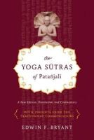 Bryant, Edwin F. - The Yoga Sutras of Patanjali - 9780865477360 - V9780865477360