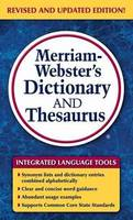 Merriam-Webster - Merriam-Webster's Dictionary and Thesaurus - 9780877798637 - V9780877798637