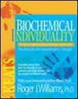 Williams, Roger - Biochemical Individuality - 9780879838935 - V9780879838935
