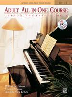 Willard A. Palmer - Adult All-In-One Course: Lesson-Theory-Technic : Level 1 (Alfred's Basic Adult Piano Course) - 9780882849317 - V9780882849317