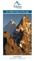 Martin Moran - 4000m Peaks Of The Alps - 9780900523663 - V9780900523663