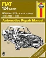 Haynes Haynes - Fiat 124 Sport/Spider  '68'78 (Haynes Repair Manual) - 9780900550942 - V9780900550942