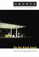 Jack, Ian - Granta 94: On the Road Again - 9780903141864 - KAK0006828