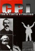 - For a People's Politics: Documents of the 23rd National Congress of the Communist Party of Ireland, Belfast, November 2006 - 9780904618433 - KEX0269660