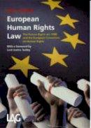 Starmer, Keir - European Human Rights Law - 9780905099774 - V9780905099774