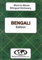 Sesma, C. - English-Bengali & Bengali-English Word-to-word Dictionary: Suitable for Exams (Bengali and English Edition) - 9780933146303 - V9780933146303