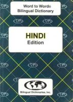 C. Sesma M.A. - Hindi Word to Word® Bilingual Dictionary (English-Hindi / Hindi-English) - 9780933146310 - V9780933146310