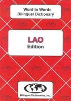 Sesma, C., Keola, S. - English-Lao & Lao-English Word-to-word Dictionary: Suitable for Exams (Lao and English Edition) - 9780933146549 - V9780933146549