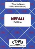 Sesma, C. - English-Nepali & Nepali-English Word-to-word Dictionary: Suitable for Exams (Nepali and English Edition) - 9780933146617 - V9780933146617