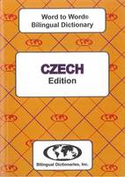 Sesma, C. - English-Czech & Czech-English Word-to-word Dictionary - 9780933146624 - V9780933146624