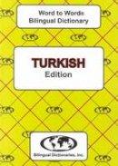 Sesma, C. - English-Turkish & Turkish-English Word-to-word Dictionary: Suitable for Exams (Turkish and English Edition) - 9780933146952 - V9780933146952