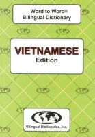 Sesma, C. - English-Vietnamese & Vietnamese-English Word-to-word Dictionary: Suitable for Exams (Vietnamese and English Edition) - 9780933146969 - V9780933146969