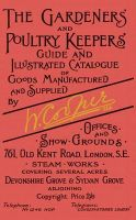 William Cooper Ltd - The Gardeners' and Poultry Keepers' Guide - 9780936070476 - V9780936070476
