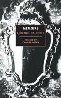 Da Ponte, Lorenzo - Memoirs of Lorenzo Da Ponte - 9780940322356 - V9780940322356
