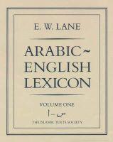Lane, E.W. - Arabic-English Lexicon - 9780946621033 - V9780946621033