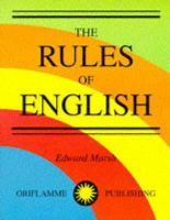 - The Rules of English - 9780948093159 - V9780948093159