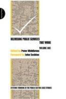 - Delivering Public Services That Work - 9780956263162 - V9780956263162