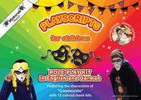 Fournier-Kelly, Emmanuelle - Playscript for Children - Bilingual German & English: Role Play in German (Cosmoville Series) (German Edition) - 9780993276101 - V9780993276101