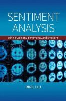 Liu, Bing - Sentiment Analysis: Mining Opinions, Sentiments, and Emotions - 9781107017894 - V9781107017894