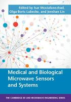 - Medical and Biological Microwave Sensors and Systems (The Cambridge RF and Microwave Engineering Series) - 9781107056602 - V9781107056602