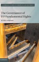Dawson, Mark - The Governance of EU Fundamental Rights (Cambridge Studies in European Law and Policy) - 9781107070493 - V9781107070493