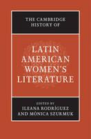 - The Cambridge History of Latin American Women's Literature - 9781107085329 - V9781107085329