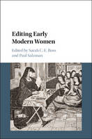- Editing Early Modern Women - 9781107129955 - V9781107129955