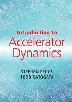 Peggs, Stephen, Satogata, Todd - Introduction to Accelerator Dynamics - 9781107132849 - V9781107132849