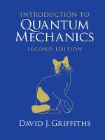 Griffiths, David J. - Introduction to Quantum Mechanics - 9781107179868 - V9781107179868