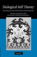 Hermans, Hubert, Hermans-Konopka, Agnieszka - Dialogical Self Theory: Positioning and Counter-Positioning in a Globalizing Society - 9781107411746 - V9781107411746