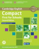Thomas, Barbara, Matthews, Laura - Compact First for Schools Workbook without Answers with Audio - 9781107415775 - V9781107415775