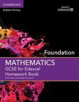 Asker, Nick, Morrison, Karen - GCSE Mathematics for Edexcel Foundation Homework Book - 9781107496859 - V9781107496859