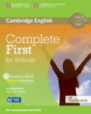 Brook-Hart, Guy - Complete First for Schools Student's Book without Answers with CD-ROM with Testbank - 9781107501256 - V9781107501256