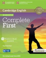 Brook-Hart, Guy - Complete First Student's Book with Answers with CD-ROM with Testbank - 9781107501805 - V9781107501805