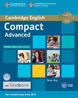 May, Peter - Compact Advanced Student's Book without Answers with CD-ROM with Testbank - 9781107543799 - V9781107543799