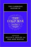 - The Cambridge History of the Cold War (Volume 1) - 9781107602298 - V9781107602298