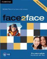 Tims, Nicholas - face2face Pre-intermediate Workbook with Key - 9781107603530 - V9781107603530