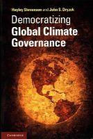 Dryzek, John S.; Stevenson, Hayley - Democratizing Global Climate Governance - 9781107608535 - V9781107608535