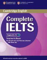 Brook-Hart, Guy, Jakeman, Vanessa - Complete IELTS Bands 6.5-7.5 Teacher's Book - 9781107609648 - V9781107609648