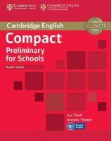 Elliott, Sue, Thomas, Amanda - Compact Preliminary for Schools Teacher's Book - 9781107610279 - V9781107610279