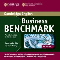 Whitby, Norman - Business Benchmark Pre-intermediate to Intermediate Business Preliminary Class Audio CDs (2) - 9781107611030 - V9781107611030
