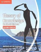 Lagemaat, Richard van de - Theory of Knowledge for the IB Diploma - 9781107612112 - V9781107612112